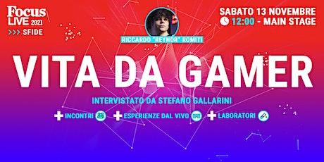 "Riccardo ""Reynor"" Romiti: vita da gamer tickets"