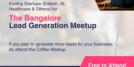 Bangalore Startup Meet by WeWin tickets