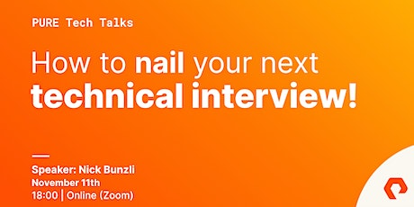 How to Nail Your Next Technical Interview tickets