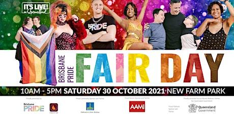 Brisbane Pride Fair Day 2021 tickets