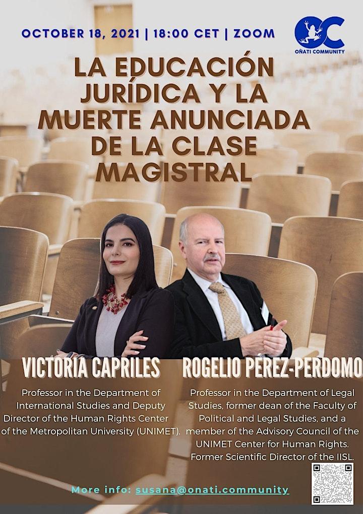 Imagen de La Educación Jurídica y la Muerte Anunciada de la Clase Magistral
