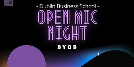 DBS Open Mic Night - BYOB tickets
