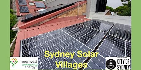 Sydney Solar Villages, Solar Information Evening tickets