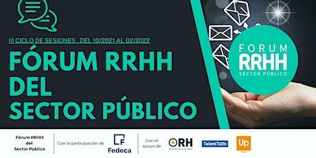 Los procesos de Digitalización en el Sector Público: III Ciclo,Fórum RRHHSP entradas