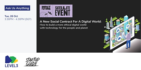 Ask Me Anything: A New Social Contract For A Digital World tickets