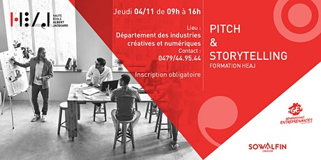 Storytelling & Pitch tickets