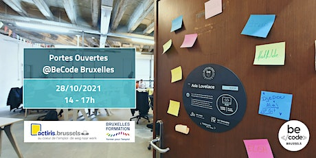 BeCode Brussels - Portes Ouvertes tickets