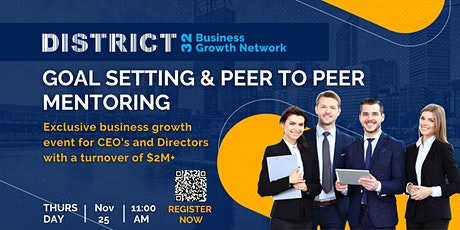 District32 Connect Premium Business Growth Event – Thu 25 Nov tickets