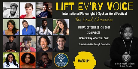 LIFT EV'RY VOICE International Playwright & Spoken Word Festival Cycle 3 tickets