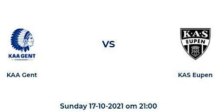 Jupiler Pro League: KAA Gent - KAS Eupen billets