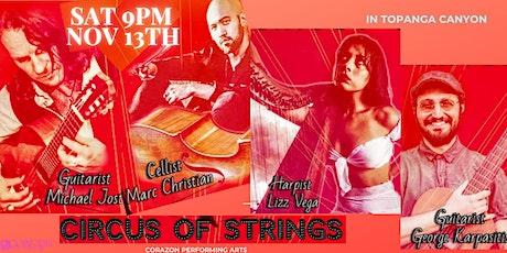 Circus of Strings Marc Christian Michael Jost Lizz Vega, George Karpasitis tickets