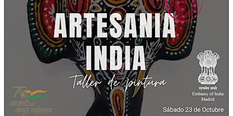 Artesanía India - Taller de Pintura entradas