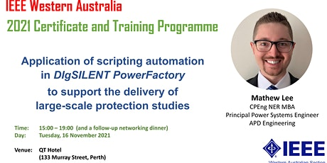 2021 IEEE  Western Australia Certificate and Training Programme tickets