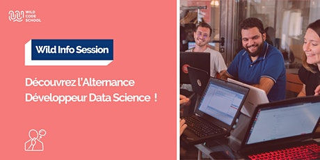 Wild Info Session - Découvrez l'Alternance Développeur Data Science ! tickets