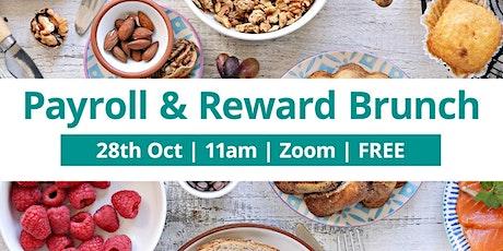 Payroll and Reward Brunch - October Budget Special tickets