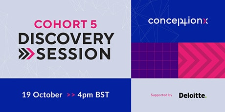 Conception X: Cohort V Discovery Session tickets
