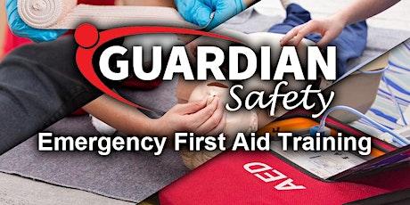 Emergency First Aid Training tickets