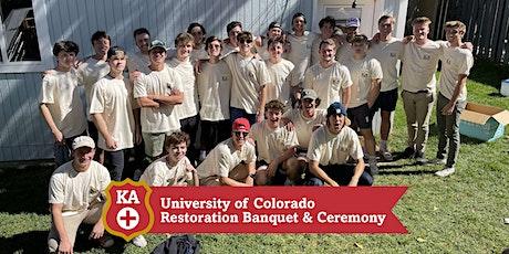Colorado Restoration Banquet & Ceremony tickets