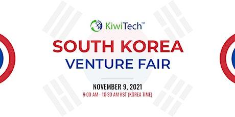 South Korea Venture Fair tickets