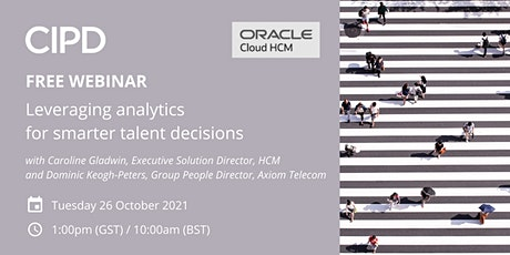 Leveraging analytics for smarter talent decisions tickets