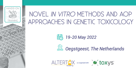 Novel in vitro methods and AOP approaches in genetic toxicology tickets