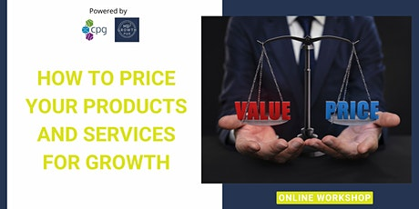 How To Price Your Products & Services Effectively tickets