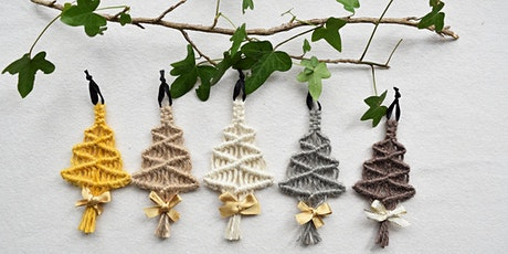 Make Your Own Macrame Christmas Trees - Afternoon Session tickets