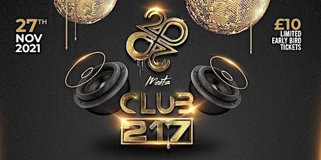 Club 217 meets Club 20/20 tickets