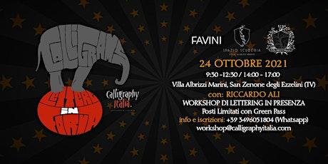 """""""CALLIGRAMS - Lettere in forma"""" - Workshop di Lettering per tutti i livelli biglietti"""