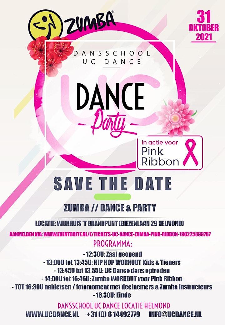 Afbeelding van UC Dance Zumba Pink Ribbon