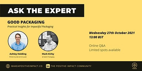 Ask the Expert: Practical insights for Impactful Packaging biglietti