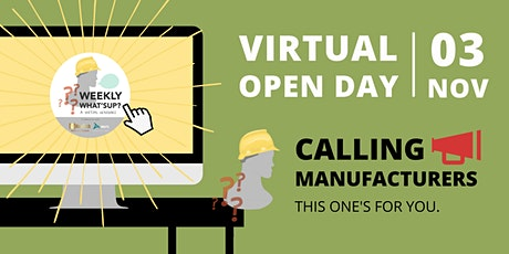 Weekly What'sup - A Virtual Headspace: Open Day! tickets