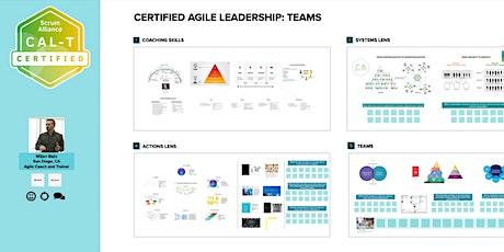 Certified Agile Leadership - Teams biglietti