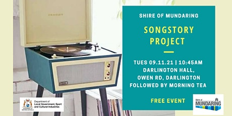 SongStory Project Live Performance Mundaring 2021 tickets