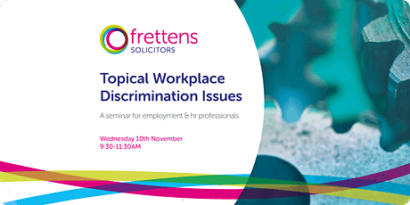 Topical Workplace Discrimination Issues - Round 2 tickets