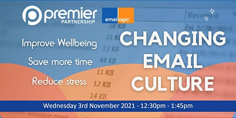 Changing Email Culture tickets
