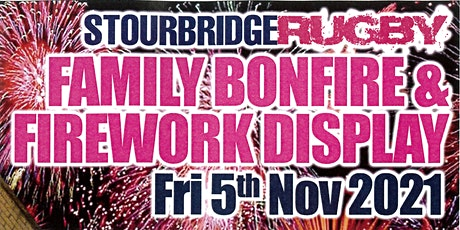 Family Bonfire and Firework Display tickets