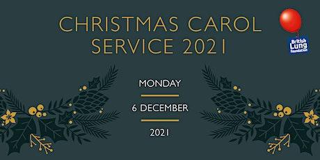 British Lung Foundation Christmas Carol Service 2021 tickets
