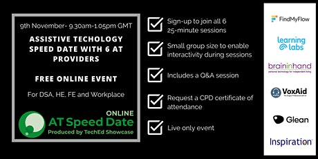TechEd Showcase AT Speed Date Online 2021 tickets