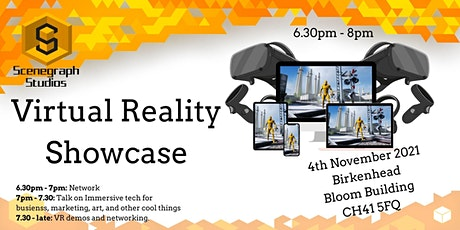 Birkenhead Immersive Virtual Reality (VR), Augmented Reality (AR) Talk demo tickets