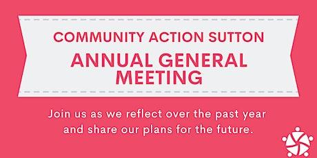 Community Action Sutton AGM tickets