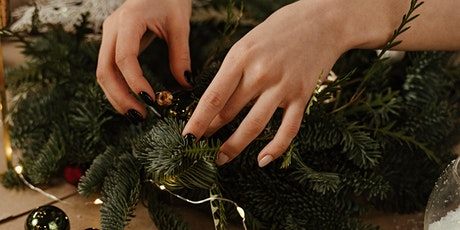WORKSHOP: Christmas wreath making with mulled wine and mince pies tickets