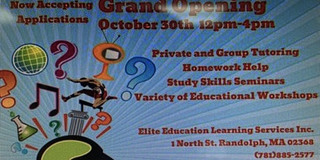 Elite Education Learning Services Inc. GRAND OPENING tickets