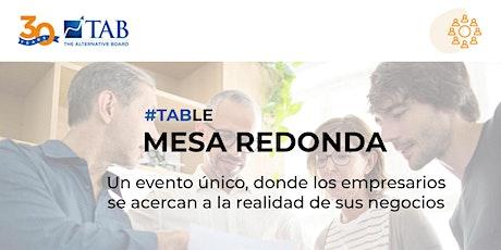 Mesa Redonda - Empresarios Barcelona tickets