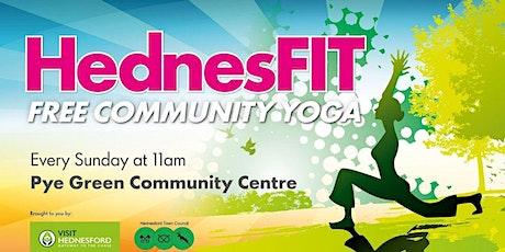 HednesFIT Yoga (free) tickets