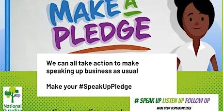 Speak Up, Listen Up, Follow Up - NGO Speak Up Month event tickets