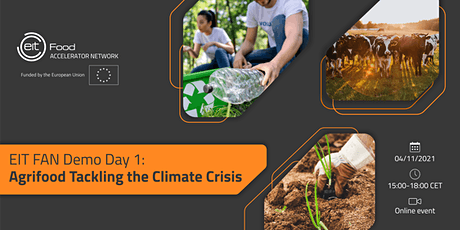 EIT FAN Demo Day 1: Agrifood Tackling the Climate Crisis tickets