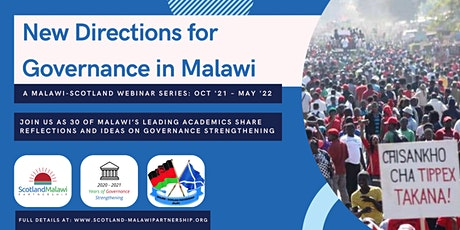 Malawi-Scotland Governance Webinar Series tickets