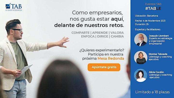 Imagen de TAB - Mesa Redonda - Empresarios/as Barcelona