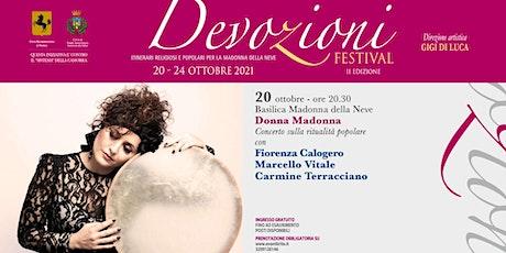 Donna Madonna | Devozioni Festival tickets